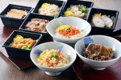画像1: 北海道産米 海鮮おこわ食べ比べ(9種)