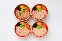 画像2: 海の幸4種わっぱ飯